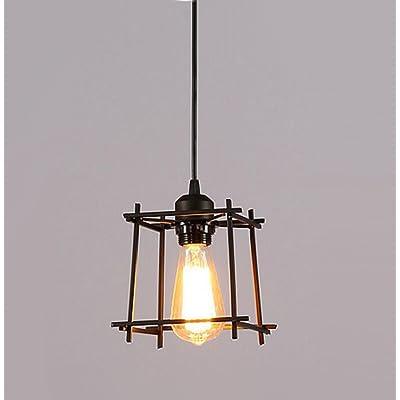 LED Nordic Fer Forgé Lustre Lustre Moderne Vintage Unique / 5/10 Loft Attique Lustre Lampe Bar Table / Café / Café / Plafond Plafonnier (sans ampoule)