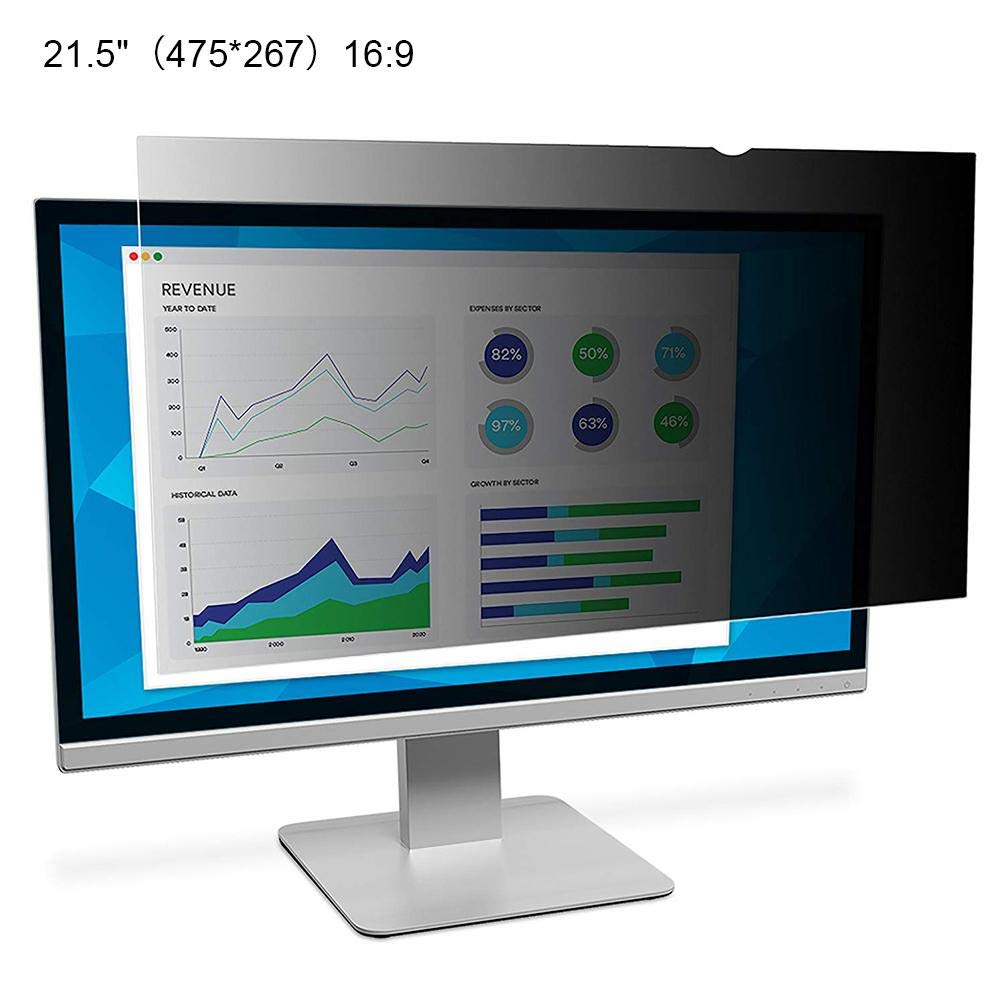 Lorchwise 21-24 Inch Computer Universal Screen Protection Film - Peep Protection Film - Privacy Filter LCD Screen Protective Film - PC Universal Privacy Filter 21.5 22 23 24