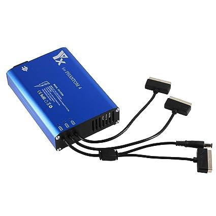FairytaleMM Cargador de batería Inteligente 4 en 1 concentrador ...