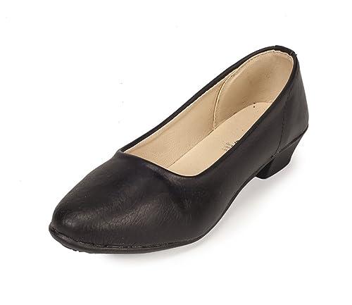 Buy Khadims Womens Black Faux Leather