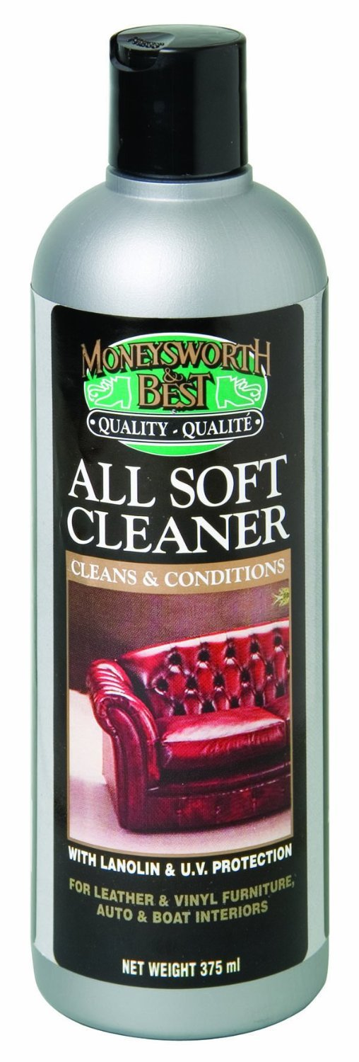 Moneysworth & Best Shoe Care All Soft Furniture Cleaner & Conditioner, 13-Ounce