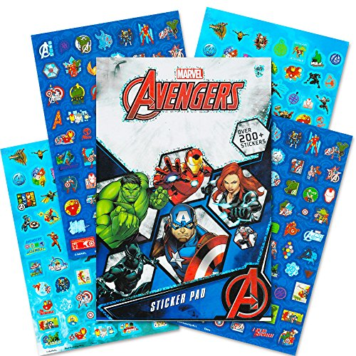 - Marvel Avengers Stickers ~ 270+ Stickers ~ Captain America, Thor, The Hulk, Iron Man, and More!