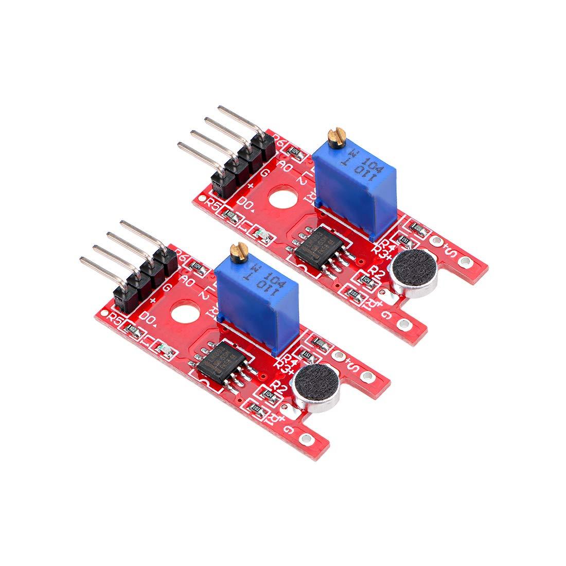 2PCS Microphone Sensor AVR PIC High Sensitivity Sound Detection Module Arduino