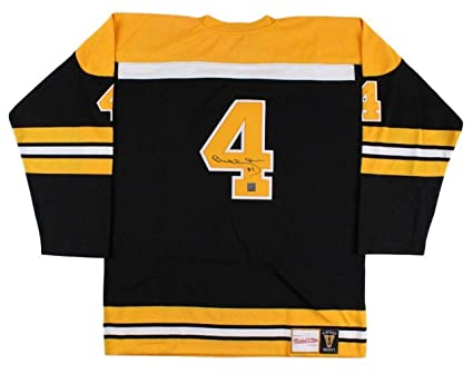 Bobby Orr Signed Jersey - Black Mitchell   Ness GNR Holo ... eaa8c76f4d7