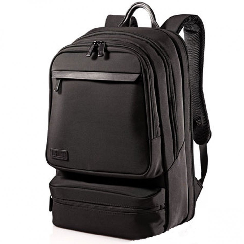 Hartmann Minimalist Backpack, Black, One Size