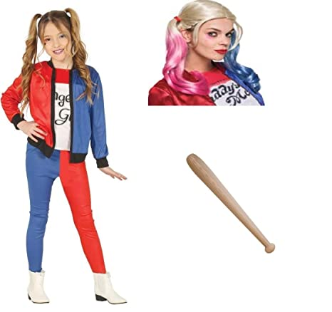 Zeus Party Kit Harley quiin Margot- Traje Suicide Squad con ...