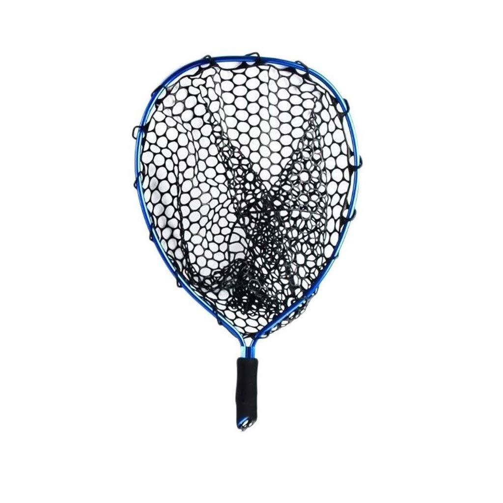 MYHXC Folding Fishing Net Foldable Fish Landing Net Robust Aluminum Telescopic Pole Handle and Safe Fish Catching by MYHXC