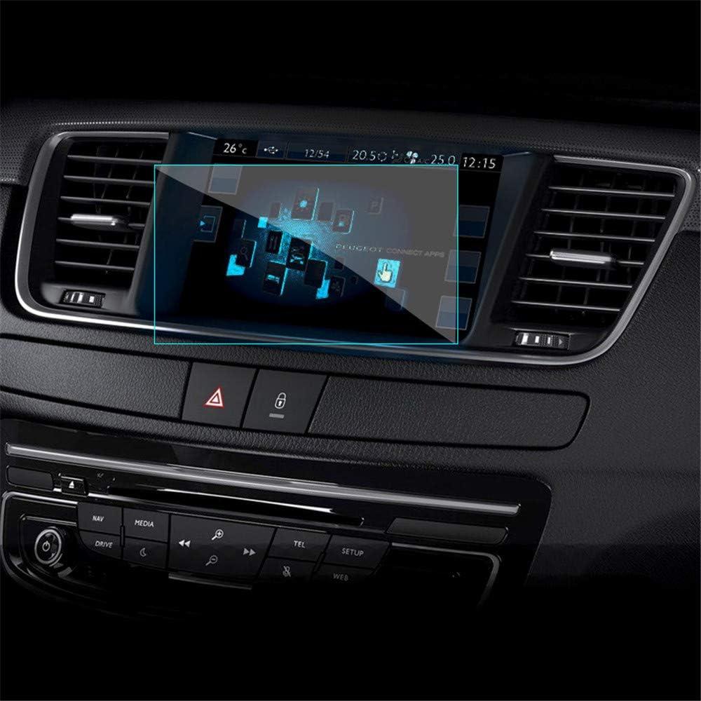 OIOBOMBG 9.7 Pulgadas Pantalla de navegación GPS para Coche Control de película Protectora de Acero Templado Pantalla LCD Pegatina Accesorios de diseño, para Peugeot 408,: Amazon.es: Deportes y aire libre