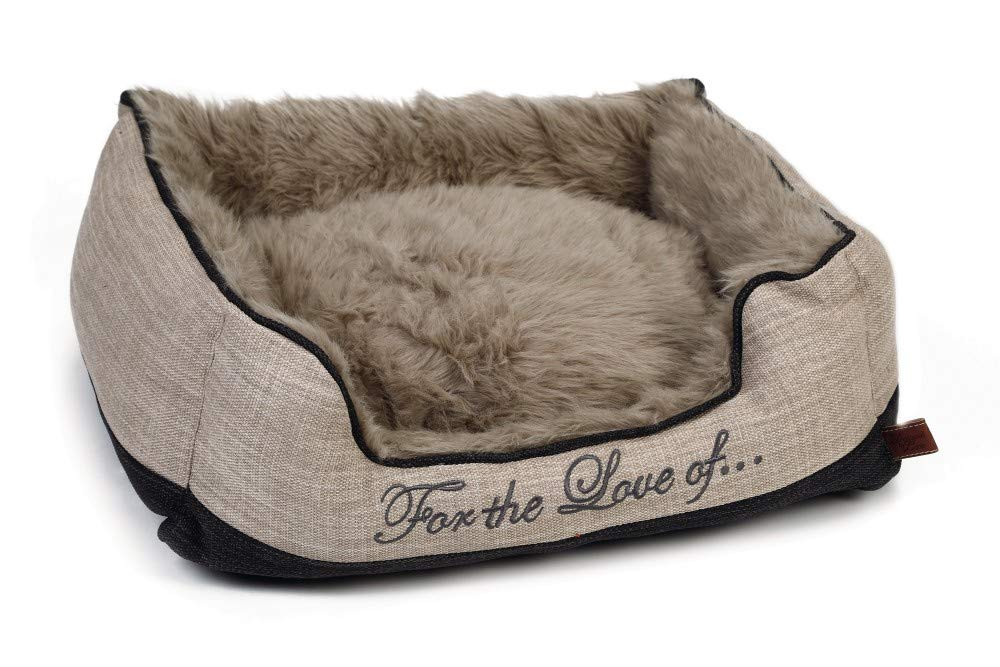 Designed by Lotte Dog Bed Dallam, 80 x 70 x 22 cm, Beige