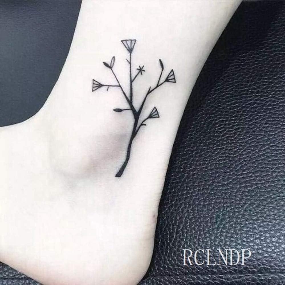 5pcs Impermeable Etiqueta engomada del Tatuaje del árbol de Coco ...