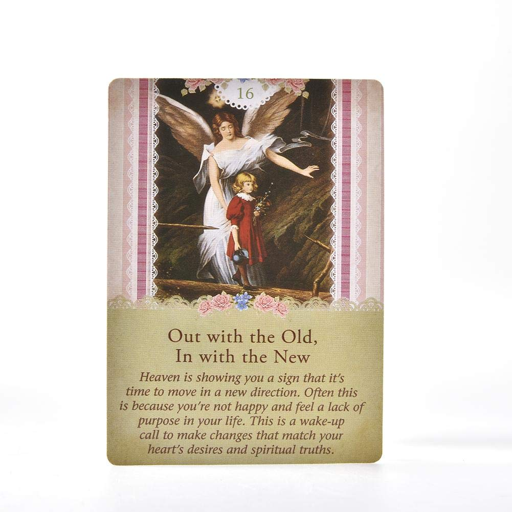 conventional up-to-date smilerr Guardian Angel Tarot Cards Mini Tarot Deck 78 Pcs Card Deck and Guidebook Cards English Edition