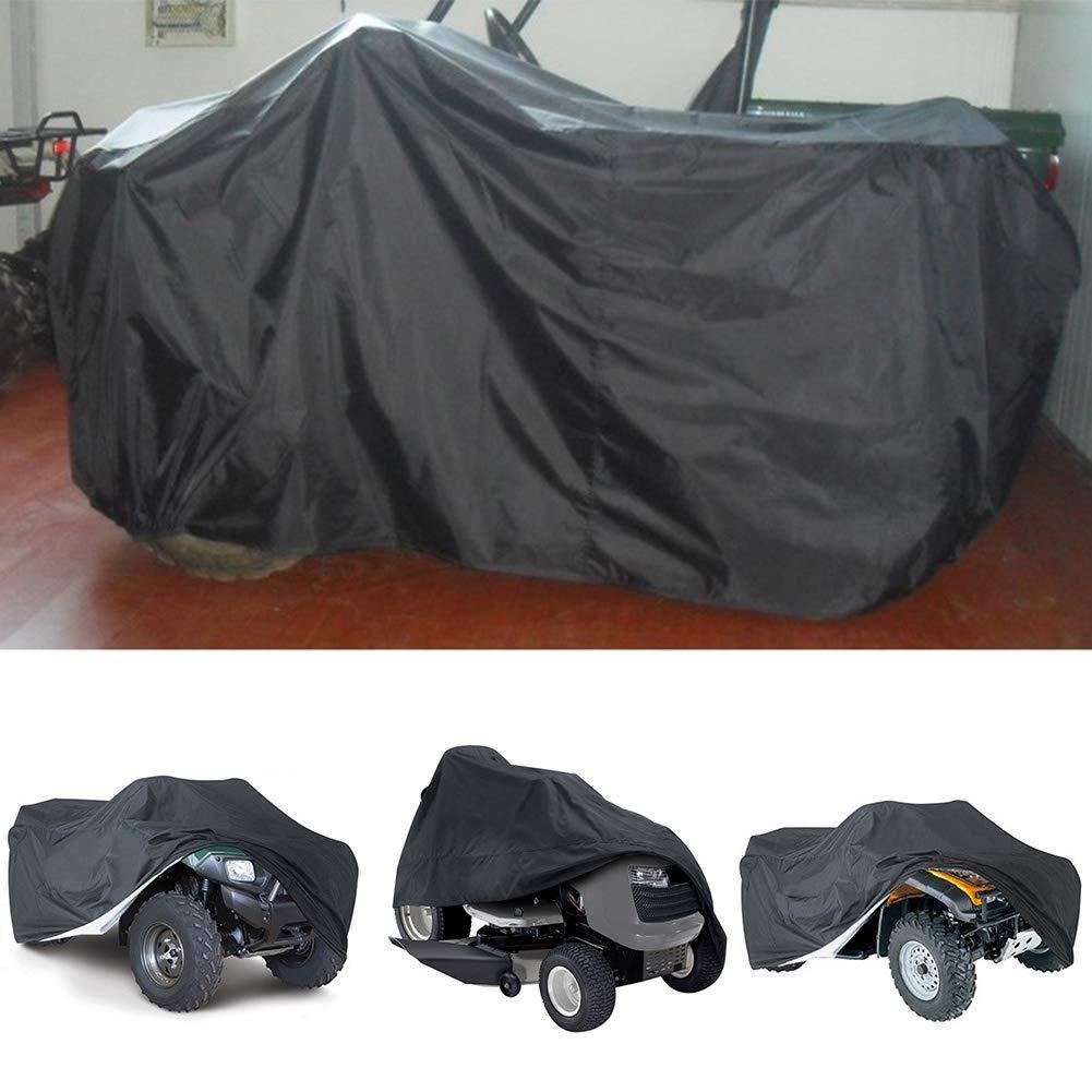 anti-poussi/ère UV convient /à la plupart des v/éhicules VTT protection int/érieure et ext/érieure quad. scooter rayures Housse de moto en polyester 190T imperm/éable /à leau pluie