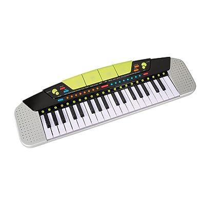 Simba 6835366 - My Music World - Teclado de 54 x 17 cm [Importado de Alemania]: Juguetes y juegos