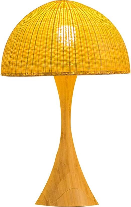 Hjbh123 HJBH Lámpara de Mesa de bambú Jardín Lámpara de bambú ...