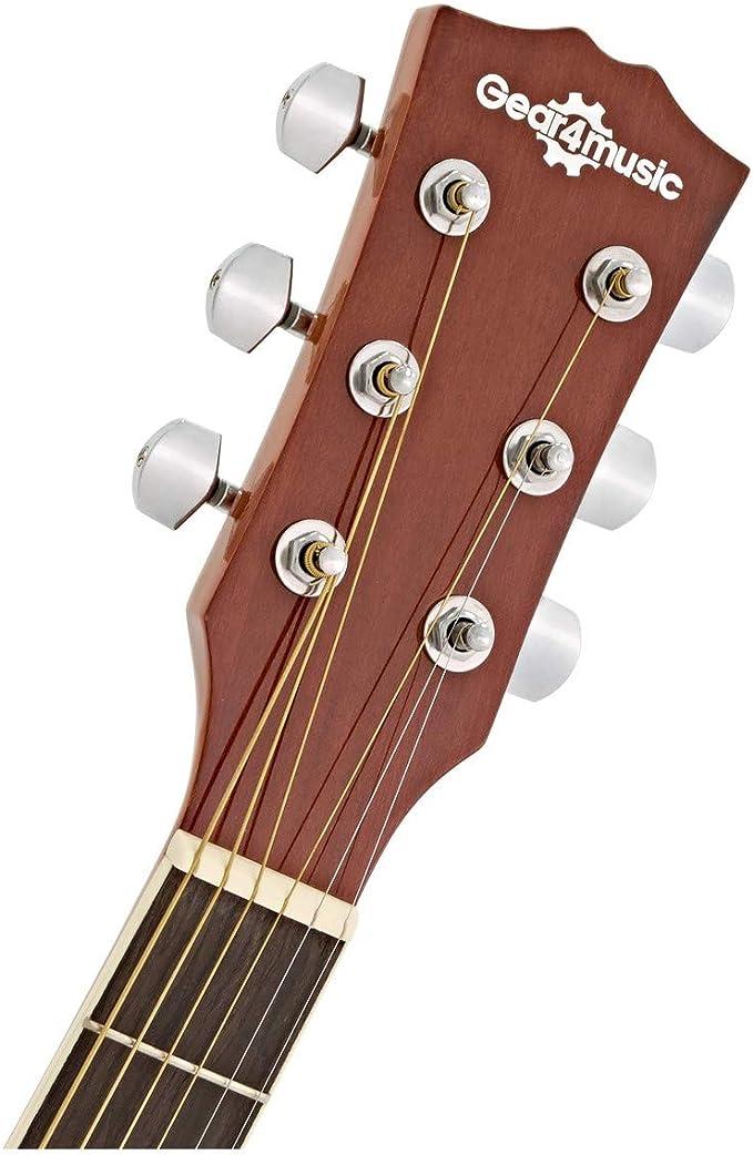 Guitarra Electroacustica Thinline de Gear4music: Amazon.es: Instrumentos musicales