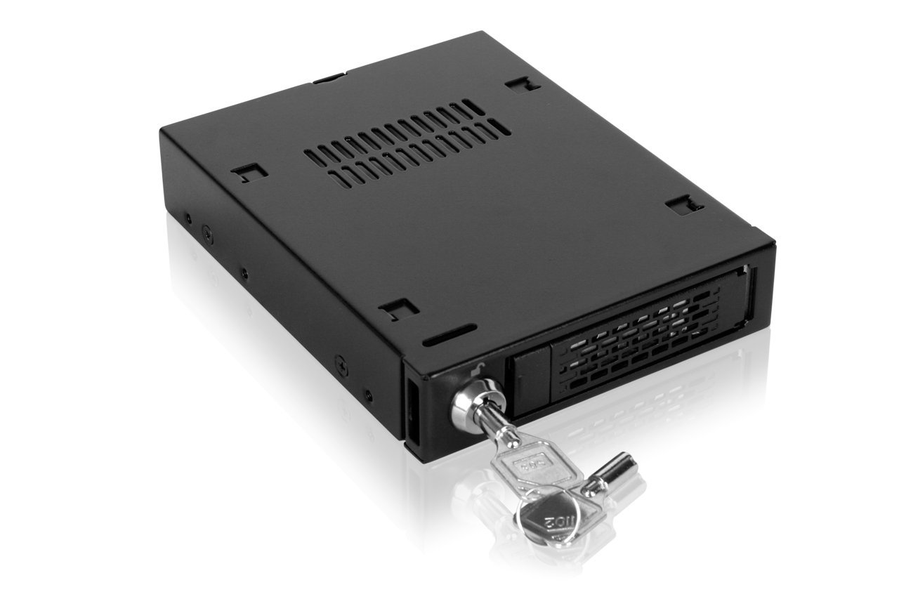 ICY DOCK 2.5'' U.2 SFF-8639 NVMe SSD Hot Swap Mobile Rack For External 3.5'' Drive Bay - MB601VK-B by ICY DOCK