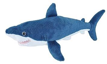 Amazon Com Wild Republic Mako Shark Plush Stuffed Animal Plush