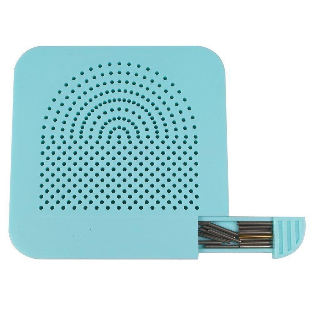azul ULTNICE Quilling Junta con pernos de almacenamiento para el papel Crafting Winder Roll Square Craft DIY Herramienta