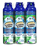 Scrubbing Bubbles Mega Shower Foamer With Ultra Cling Bulk Bathroom Cleaner 20 Ounce (Pack of 3)