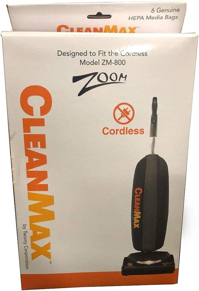 TVP Simplicity Freedom CLH-6 - Aspiradora Tipo L Clean MAX ZM-800 (6 Bolsas): Amazon.es: Hogar