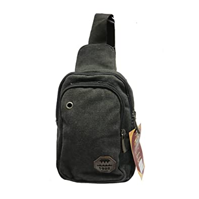 Mens Womens Small Sling Chest Bag Travel Backpack Hiking Bicycle ... 60905a292e8db