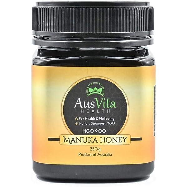 عسل مانوكا من أوسفيتا يحتوي على أعلى قيمة من مادة ميثيل جليوكسال في الإمارات العربية المتحدة ام جي أو 900 لكل 500 غم Amazon Ae
