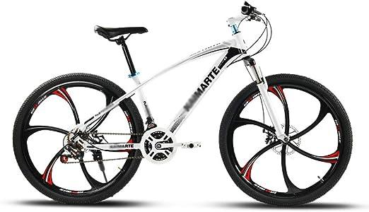 TSTZJ 26 Pulgadas Bicicleta Adulta montaña amortiguación Frenos de ...