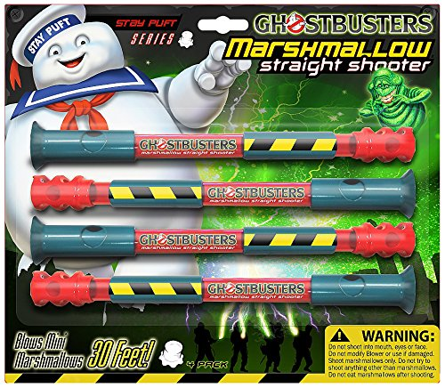 Marshmallow Fun GhostBusters Straight Shooter (Marshmallow Gun Shooter Toy)