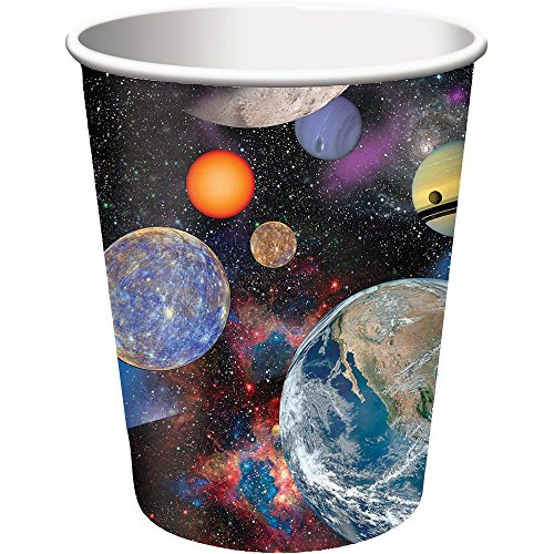 Creative Converting Space Blast Hot/Cold Cups (8 Count), 9 oz