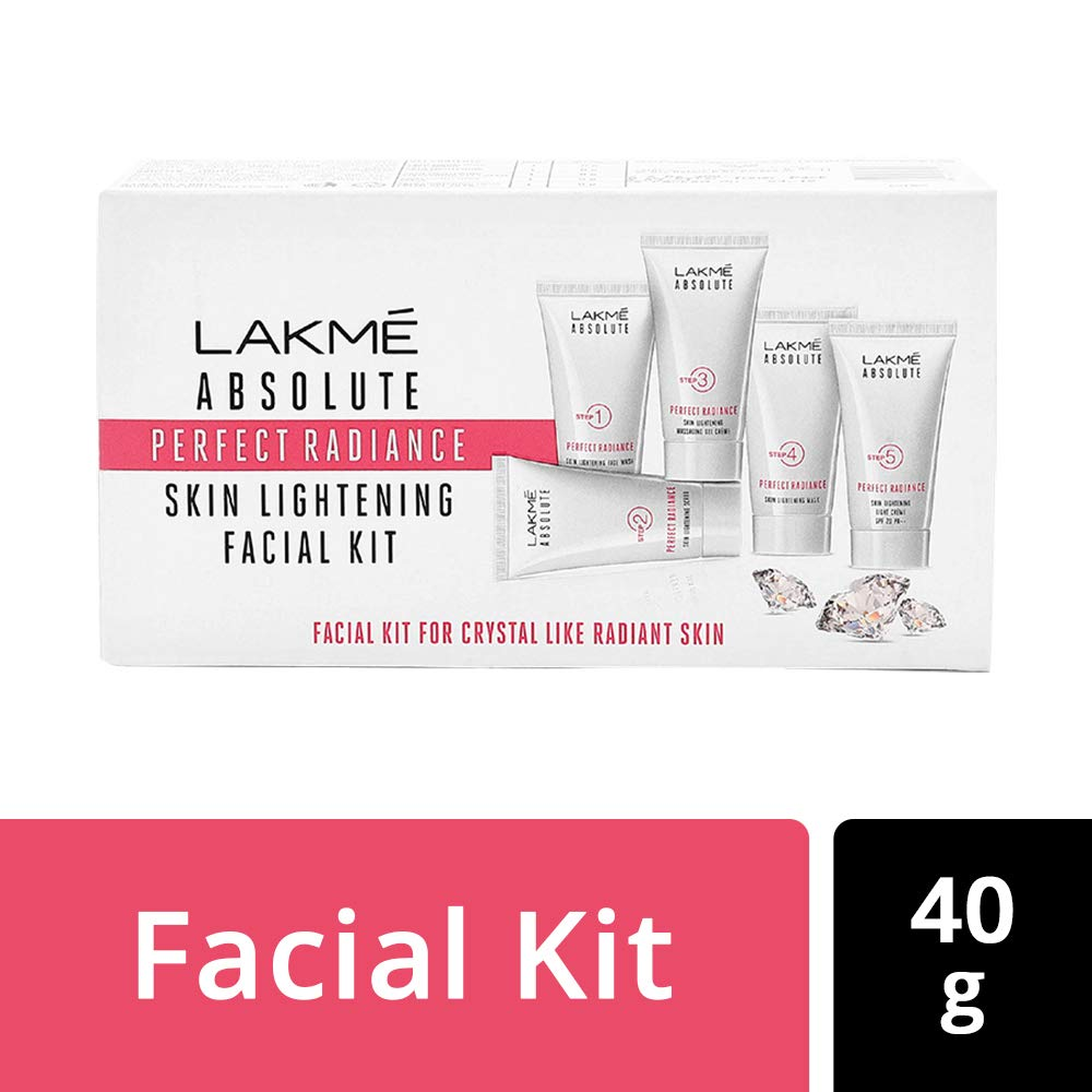 Lakme Absolute Perfect Radiance Facial Kit, 8 g (Pack of 5)