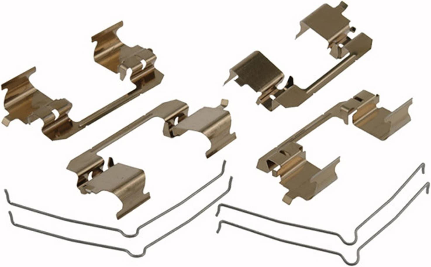 ACDelco 18K325X Professional Front Disc Brake Caliper Hardware Kit with Springs