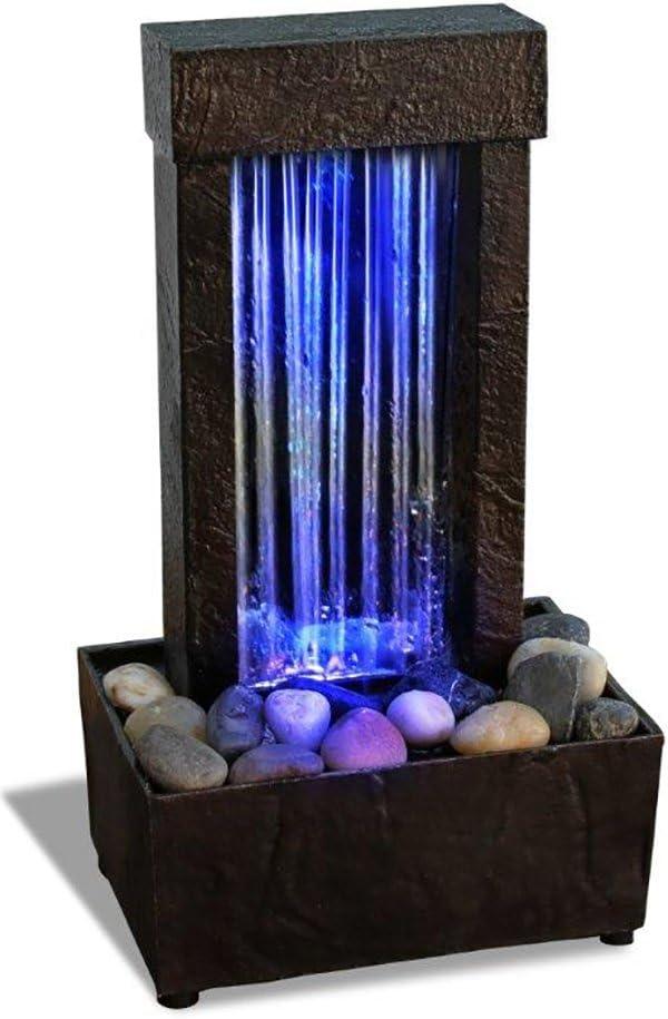 Mirrored Waterfall Light Show LED Fountain