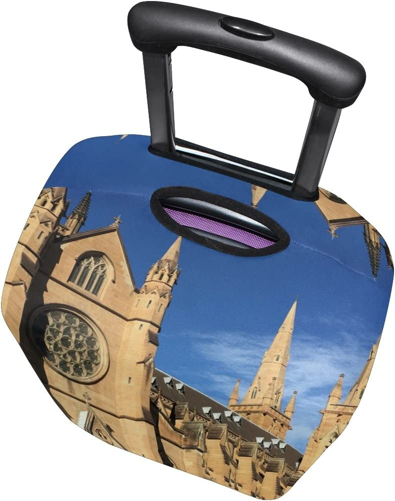 LEISISI Church Luggage Cover Elastic Protector Fits XL 29-32 in Suitcase