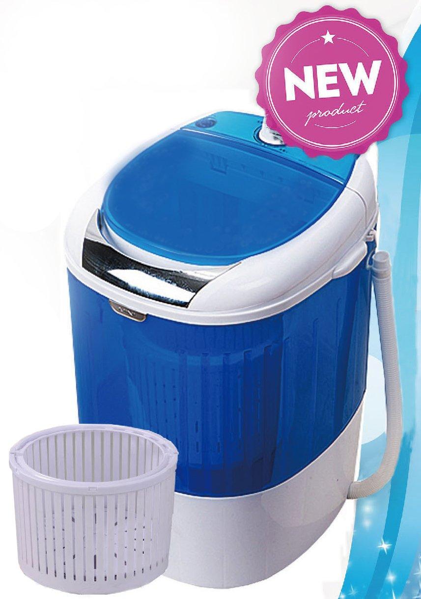 PANTRA Toploader Mini Waschmaschine mit Schleuder für 2, 5 kg Wäsche / Camping 5 kg Wäsche / Camping rukauf
