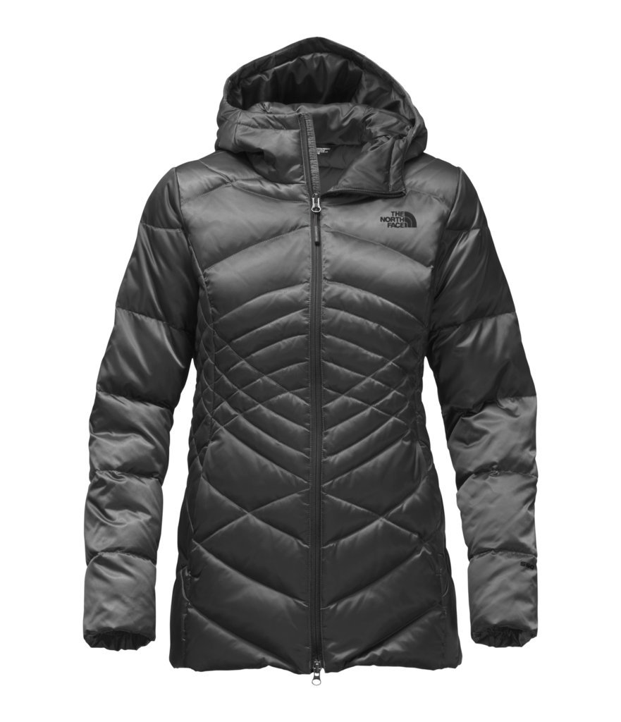 The North Face Women's Aconcagua Parka - Asphalt Grey - L (Past Season)