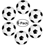 TOYMYTOY Mini Table Soccer Foosball (32mm,Black and White ) - Set of 6