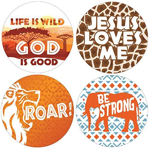 Safari Vacation Bible School Favor Labels | 1.75