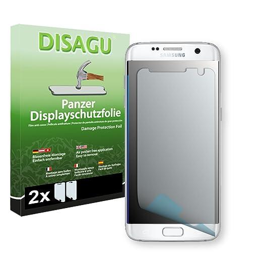 30 opinioni per 2 x DISAGU Pellicola alta protezione del display per Samsung Galaxy S7 Edge