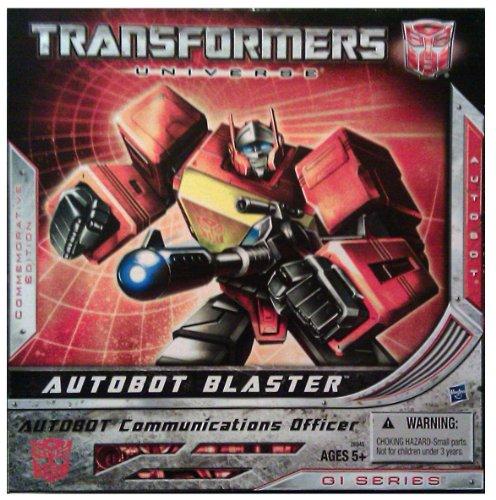 Transformers Hasbro 2010 SDCC San Diego ComicCon Exclusive Figure Autobot Blaster