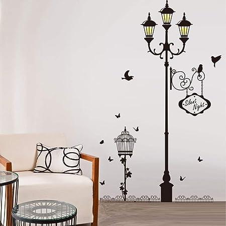 ufengke Street Light Lamp Post Vinilos Decorativos con la ...