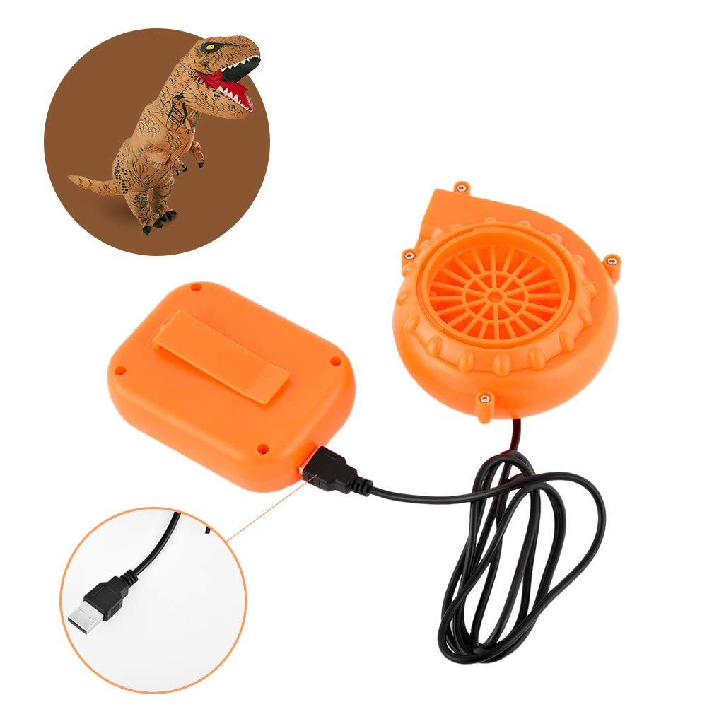 T-Rex Originals Fan Costume and Battery Pack Replacement