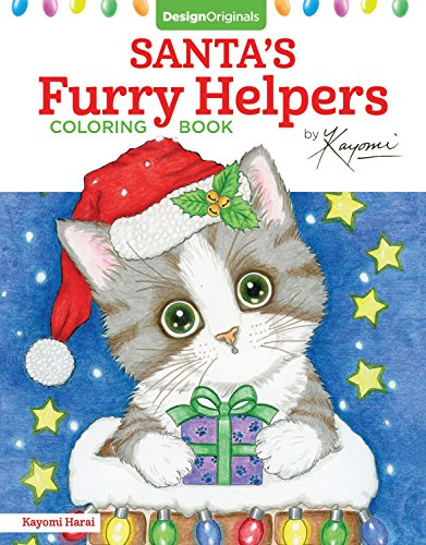 Santa's Furry Helpers Coloring Book (Design Originals)