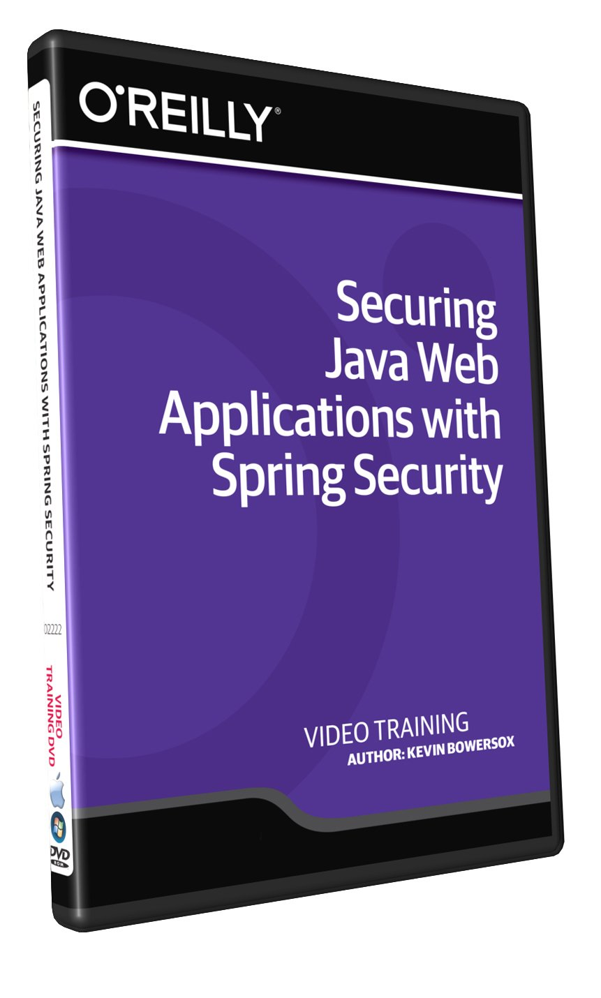 Amazon com: Securing Java Web Applications with Spring