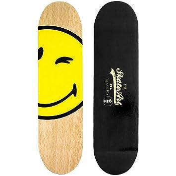Promobo  Etagère Murale Forme Tendance Skate Board Double Face