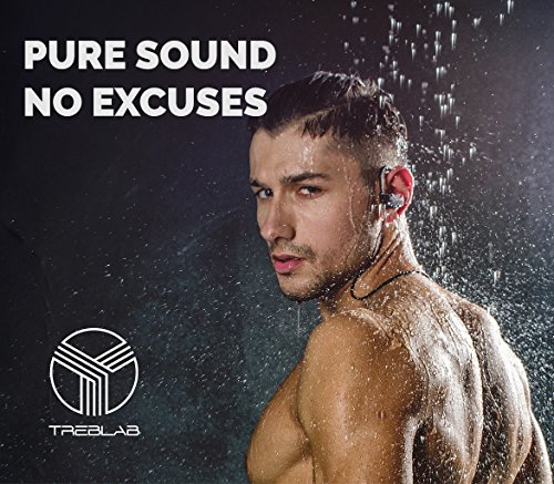 treblab xr500 bluetooth headphones noise cancelling wireless earbuds waterp. Black Bedroom Furniture Sets. Home Design Ideas