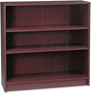 product image for HON 1872N 1870 Series Bookcase, Three Shelf, 36w x 11 1/2d x 36 1/8h, Mahogany
