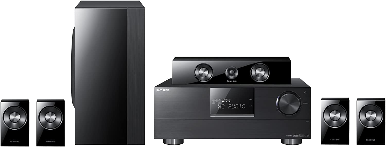 Samsung HW-D650S 5.1channels 600W Negro Conjunto de Altavoces - Set de Altavoces (5.1 Canales, 600 W, Cine en casa, Negro, Receptor AV, 20-50000 Hz): Amazon.es: Electrónica
