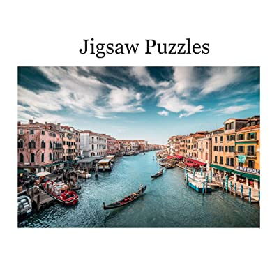 500 Pieces Jigsaw Puzzles,504 Venice Harbour, Entertainment Jigsaw Puzzles for Adults,Easy Difficulty Educational Game,Intellective Decompression(Paper Pulp): Toys & Games