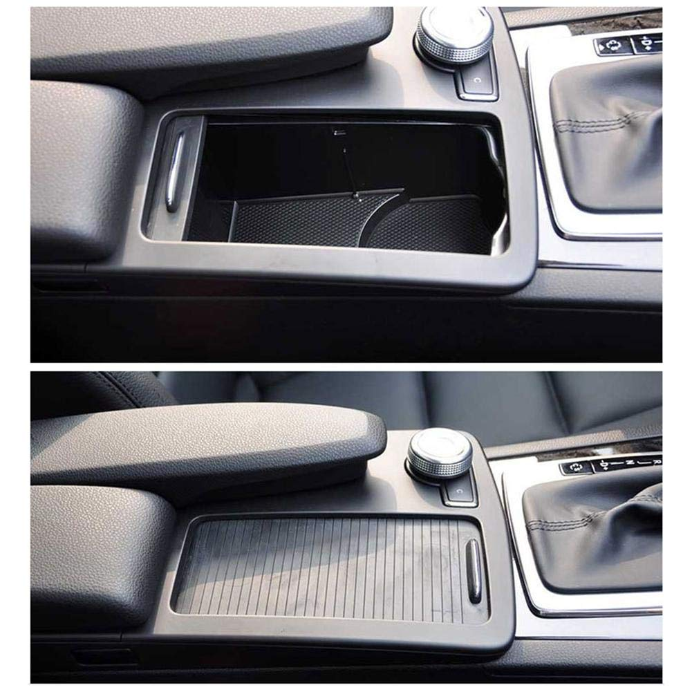 Cup Holder Roller Blinds Classe C Classe E Central Control Zipper Storage Box Trim Center Console Cover Scorrevole
