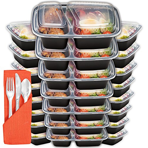 Containers Compartment Plastic BPA Free Naturals product image